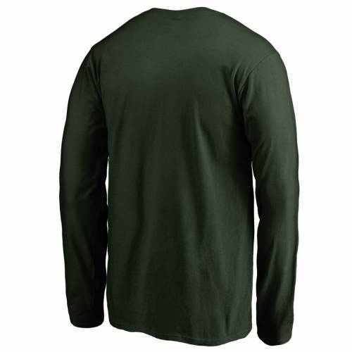 FANATICS BRANDED 子供用 スリーブ Tシャツ 緑 グリーン キッズ ベビー マタニティ トップス ジュニア 【 Ndsu Bison Youth First Sprint Long Sleeve T-shirt - Green 】 Green