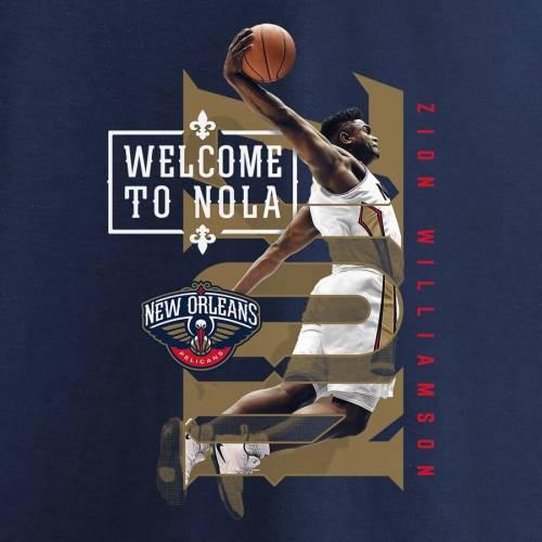 スポーツブランド カジュアル ファッション トップス 半袖 ファナティクス FANATICS BRANDED ペリカンズ Tシャツ 紺色 ネイビー 18%OFF 宅配便送料無料 ZION NAVY 2019 WILLIAMSON HOMETOWN NBA カ TSHIRT DRAFT ニューオーリンズ PHOTO メンズファッション