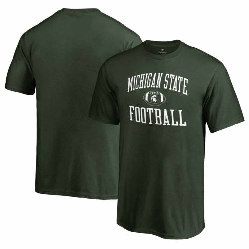 FANATICS BRANDED ミシガン スケートボード 子供用 Tシャツ 緑 グリーン キッズ ベビー マタニティ トップス ジュニア 【 Michigan State Spartans Youth First Sprint T-shirt - Green 】 Green