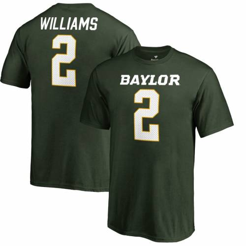FANATICS BRANDED ベイラー ベアーズ 子供用 カレッジ Tシャツ 緑 グリーン キッズ ベビー マタニティ トップス ジュニア 【 Terrance Williams Baylor Bears Youth College Legends Name And Number T-shirt - Green 】