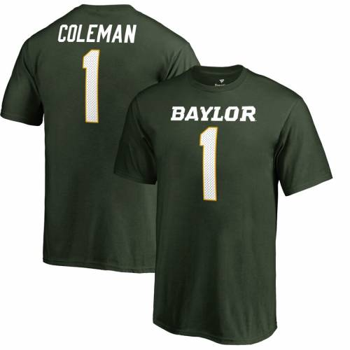 FANATICS BRANDED ベイラー ベアーズ 子供用 カレッジ Tシャツ 緑 グリーン キッズ ベビー マタニティ トップス ジュニア 【 Corey Coleman Baylor Bears Youth College Legends Name And Number T-shirt - Green 】 Gre