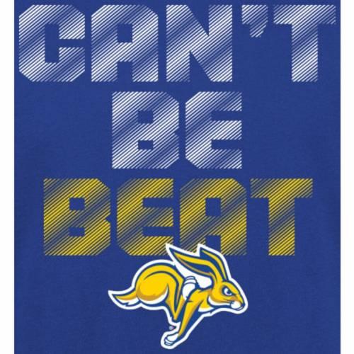 FANATICS BRANDED スケートボード 子供用 Tシャツ キッズ ベビー マタニティ トップス ジュニア 【 South Dakota State Jackrabbits Youth Cant Be Beat T-shirt - Royal 】 Royal