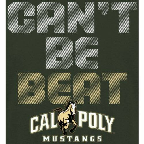 FANATICS BRANDED 子供用 Tシャツ 緑 グリーン キッズ ベビー マタニティ トップス ジュニア 【 Cal Poly Mustangs Youth Cant Be Beat T-shirt - Green 】 Green