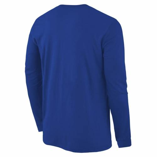 FANATICS BRANDED スリーブ Tシャツ 【 SLEEVE FANATICS BRANDED SMU MUSTANGS BASIC ARCH LONG TSHIRT ROYAL 】 メンズファッション トップス Tシャツ カットソー