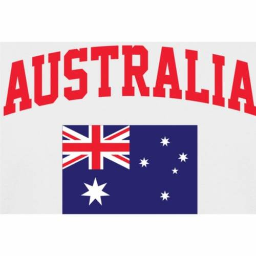 FANATICS BRANDED Tシャツ 【 AUSTRALIA FLAG TSHIRT WHITE 】 メンズファッション トップス カットソー 送料無料