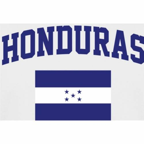 FANATICS BRANDED Tシャツ 【 HONDURAS FLAG TSHIRT WHITE 】 メンズファッション トップス カットソー 送料無料