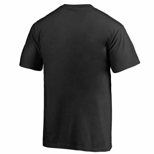 FANATICS BRANDED Tシャツ 【 ARKANSAS RAZORBACKS MIDNIGHT MASCOT TSHIRT BLACK 】 メンズファッション トップス カットソー 送料無料