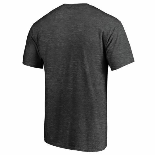 FANATICS BRANDED Tシャツ チャコール 【 FANATICS BRANDED GEORGIA BULLDOGS SHOWTIME SQUARE UP TSHIRT CHARCOAL 】 メンズファッション トップス Tシャツ カットソー