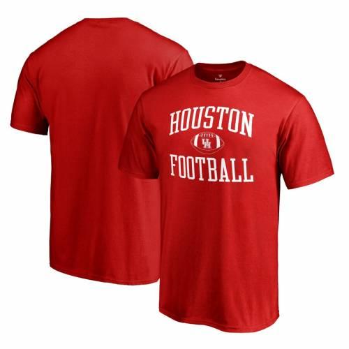 FANATICS BRANDED ヒューストン Tシャツ 【 HOUSTON COUGARS FIRST SPRINT TSHIRT RED 】 メンズファッション トップス カットソー 送料無料
