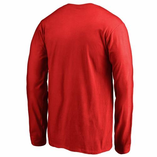 FANATICS BRANDED メリーランド 子供用 スリーブ Tシャツ 赤 レッド キッズ ベビー マタニティ トップス ジュニア 【 Maryland Terrapins Youth First Sprint Long Sleeve T-shirt - Red 】 Red