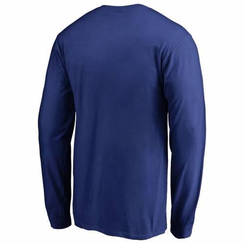 FANATICS BRANDED ドジャース ロゴ スリーブ Tシャツ メンズファッション トップス カットソー メンズ 【 Los Angeles Dodgers Static Logo Long Sleeve T-shirt - Royal 】 Royal