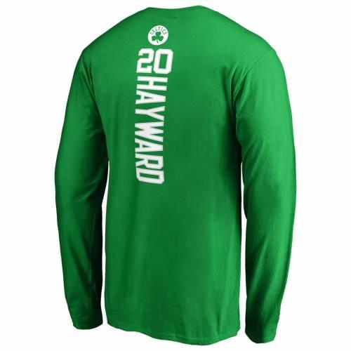【クーポン対象外】 ファナティクス FANATICS BRANDED GREEN ボストン 緑 セルティックス スリーブ Tシャツ 緑 グリーン BRANDED & 長袖【 SLEEVE GREEN FANATICS BRANDED GORDON HAYWARD BACKER NAME NUMBER TSHIRT KELLY】 メンズファッション トッ, 【在庫僅少】:c45683c2 --- cpps.dyndns.info