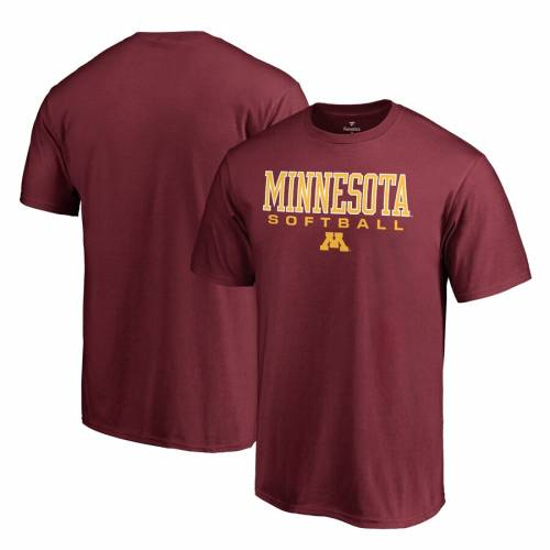 FANATICS BRANDED ミネソタ Tシャツ 【 FANATICS BRANDED MINNESOTA GOLDEN GOPHERS TRUE SPORT SOFTBALL TSHIRT MAROON 】 メンズファッション トップス Tシャツ カットソー