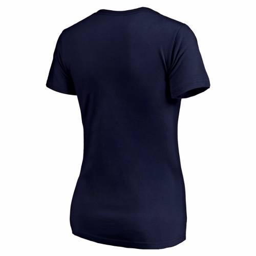 FANATICS BRANDED レディース ブイネック Tシャツ 紺 ネイビー WOMEN'SNAVY FANATICS BRANDED NASHVILLE PREDATORS 2019 STANLEY CUP PLAYOFFS BOUND BODY CHECKING PLUS SIZE VNECK TSHIRTレディースファッション トップbY76yvfg