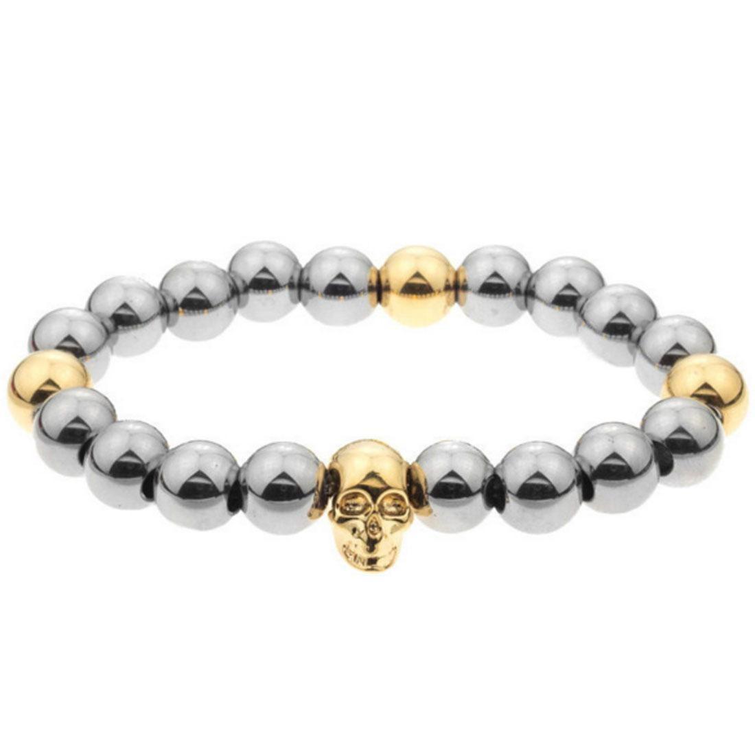 ブレスレット ジュエリー アクセサリー メンズジュエリー メンズ 【 Mister Mr Annum Plus Bracelet (gold / Chrome) 】 Gold / Chrome