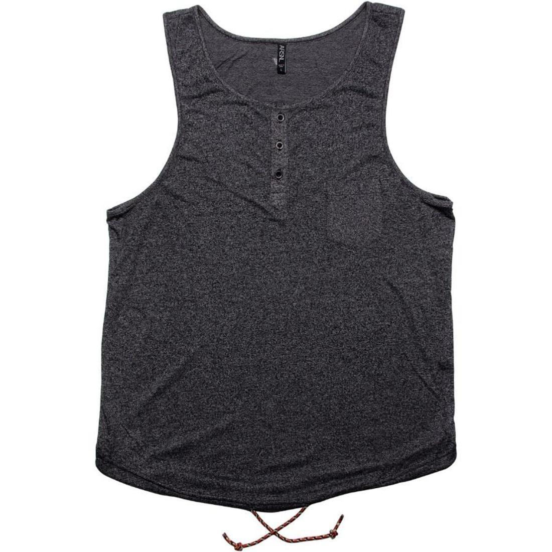 タンクトップ 黒 ブラック 【 BLACK ARSNL ORACLE TANK TOP SPECKLE 】 メンズファッション トップス タンクトップ