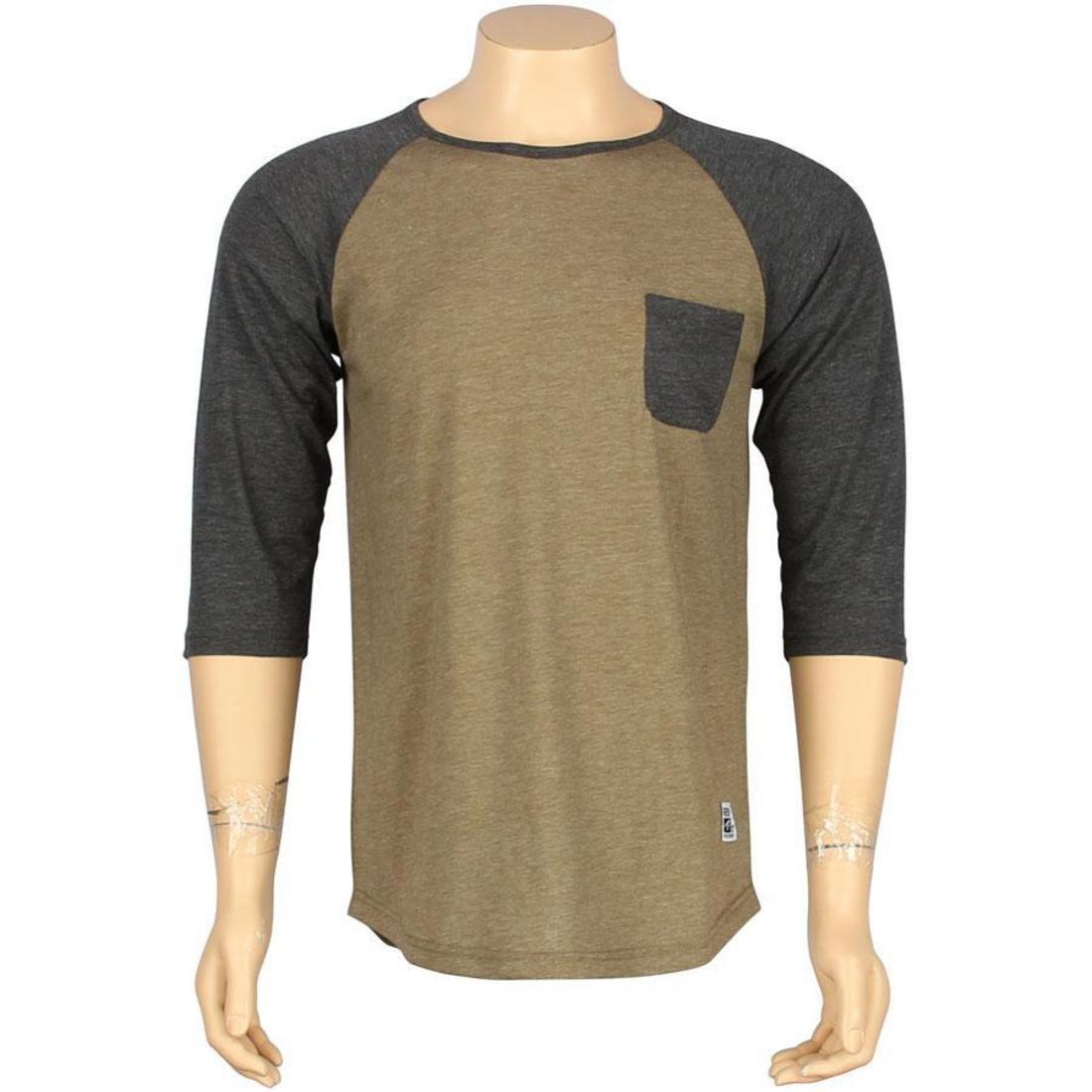 ラグラン Tシャツ オリーブ ヘザー 【 RAGLAN OLIVE HEATHER ARSNL BYRNE TEE 】 メンズファッション トップス Tシャツ カットソー