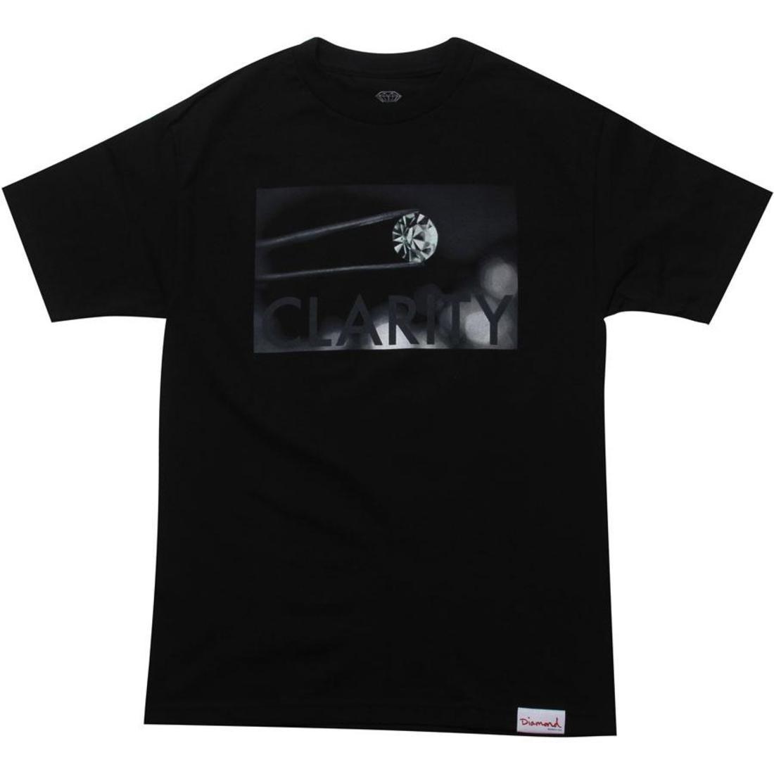 【海外限定】ダイヤモンド サプライ Tシャツ トップス メンズファッション 【 SUPPLY DIAMOND CO CLARITY TEE BLACK 】