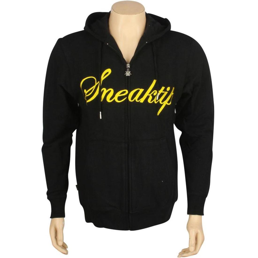 【海外限定】スニークティップ フーディー パーカー メンズファッション 【 SNEAKTIP KREAM ZIP UP HOODY BLACK 】