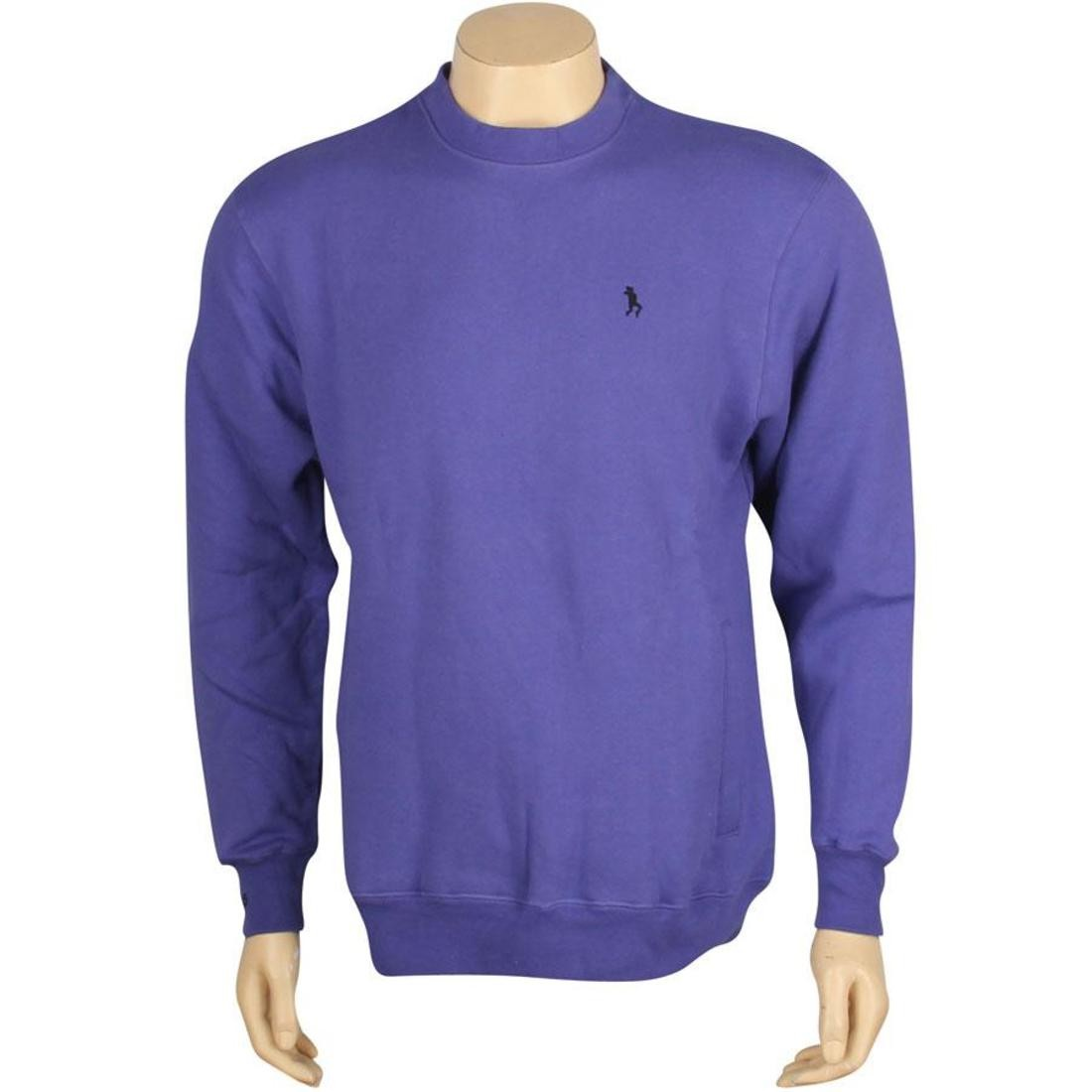 SNEAKTIP ゲーム メンズファッション トップス Tシャツ カットソー メンズ 【 Hate The Game Crewneck (purple) 】 Purple