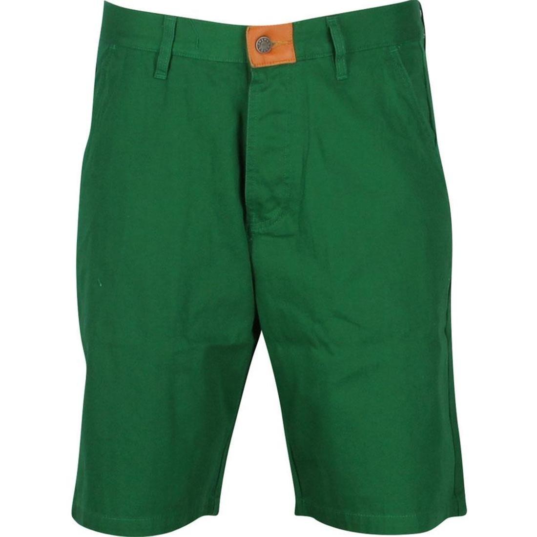 ショーツ ハーフパンツ 【 THE HUNDREDS KRUGER SHORTS GREEN 】 メンズファッション ズボン パンツ 送料無料