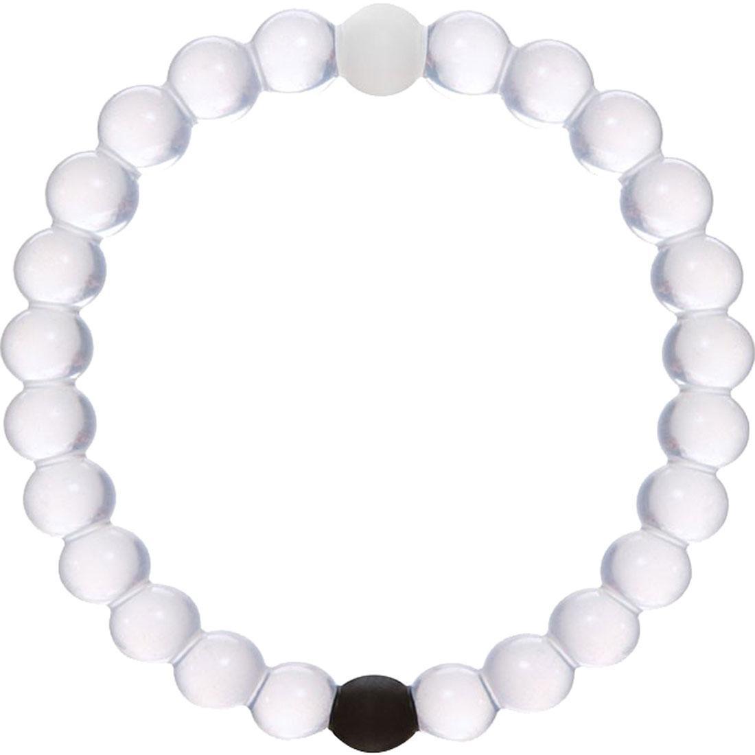 ブレスレット 黒 ブラック ジュエリー アクセサリー メンズジュエリー メンズ 【 Lokai Bracelet (white / Black / Clear) 】 White / Black / Clear