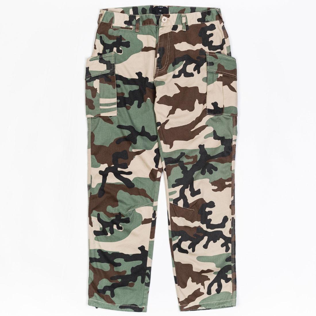 【海外限定】ディープ アルファ カーゴ パンツ メンズファッション 【 10 DEEP MEN ALPHA CHARLIE CARGO PANTS CAMO WOODLAND 】