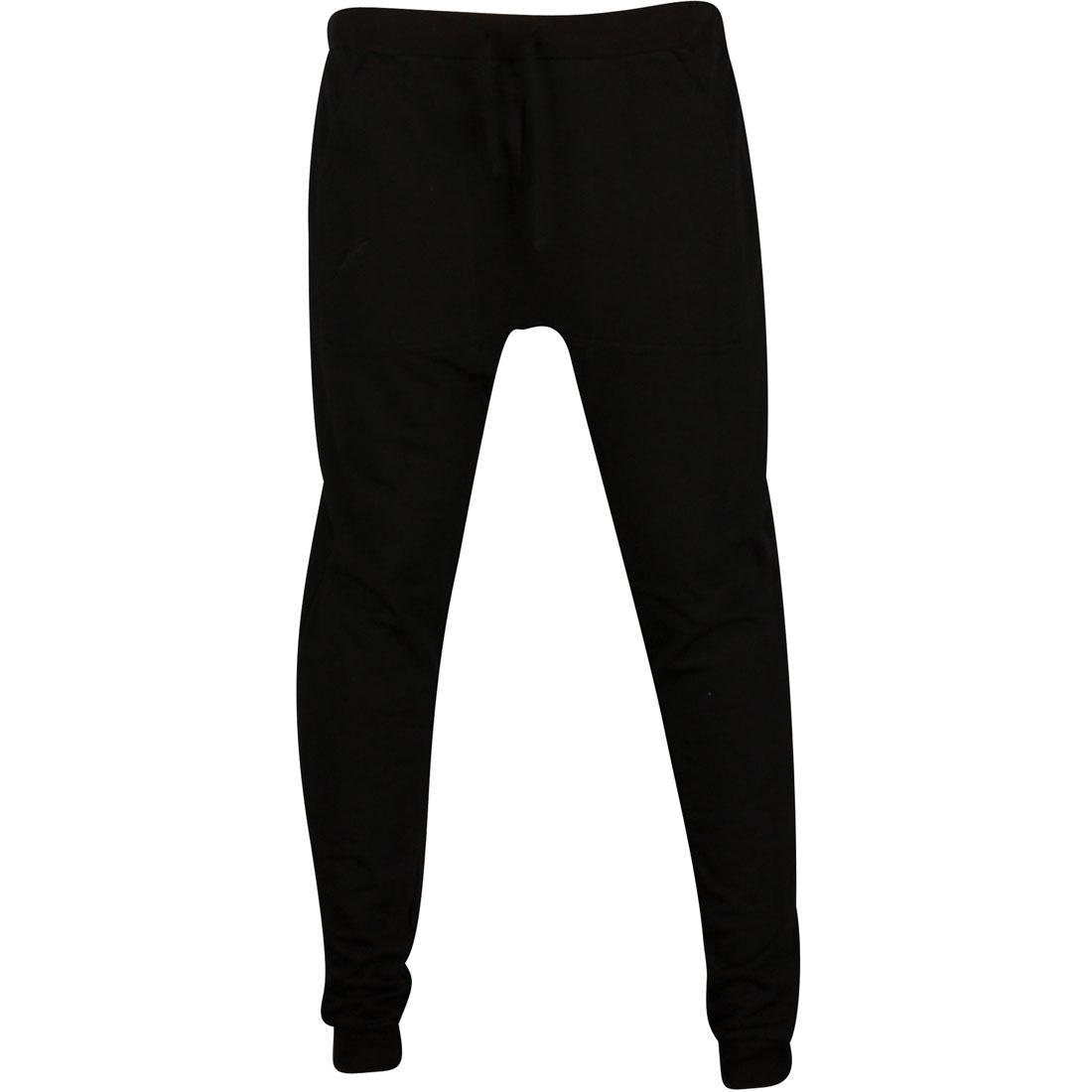 パブリッシュ フリース 黒 ブラック 【 BLACK PUBLISH COLINSON LIGHT WEIGHT FLEECE SLOUCH STYLE PANTS 】 メンズファッション ズボン パンツ