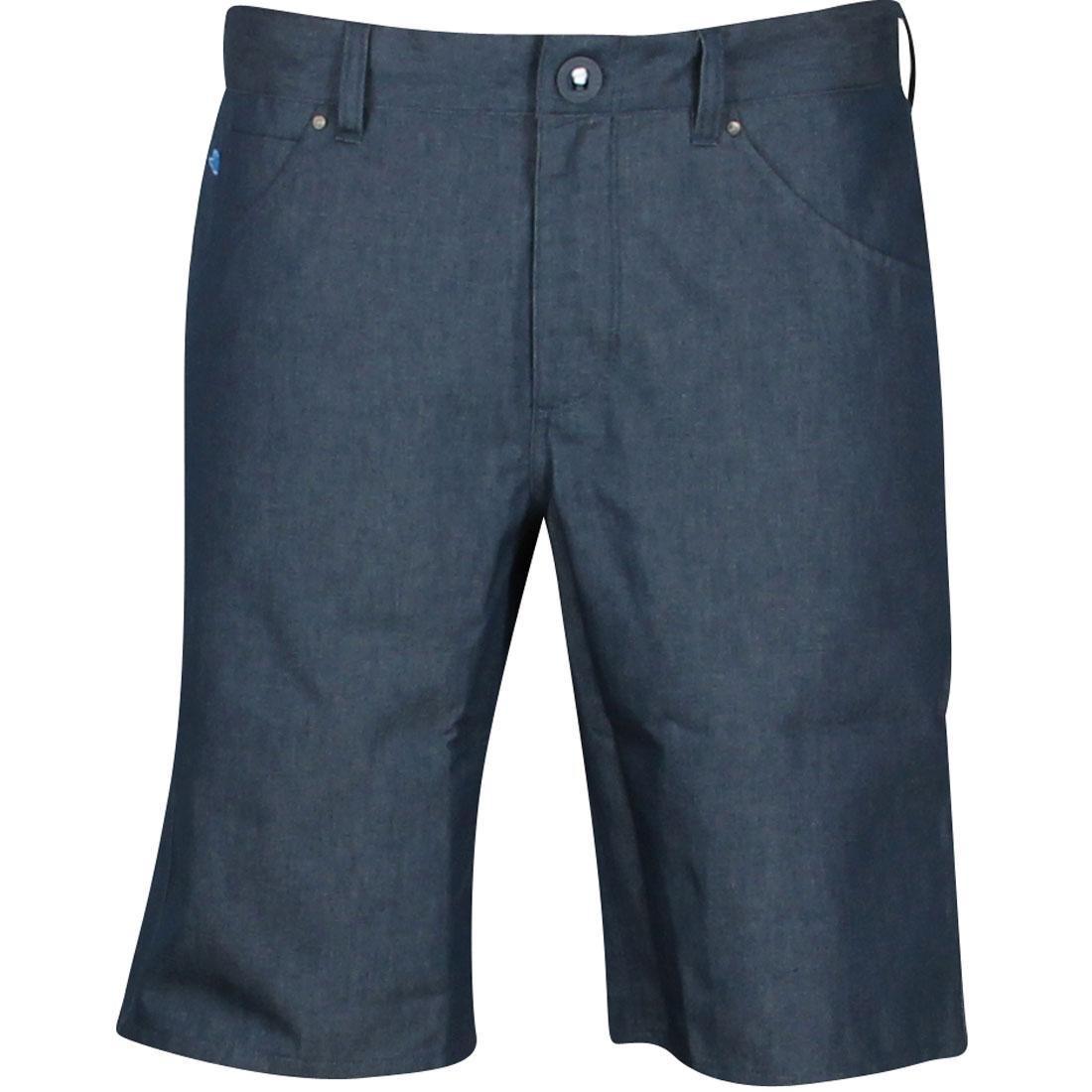アディダス ADIDAS スケート ウォーク ショーツ ハーフパンツ 青 ブルー 【 SKATE BLUE ADIDAS GONZ WALK SHORTS UNIBLU 】 メンズファッション ズボン パンツ