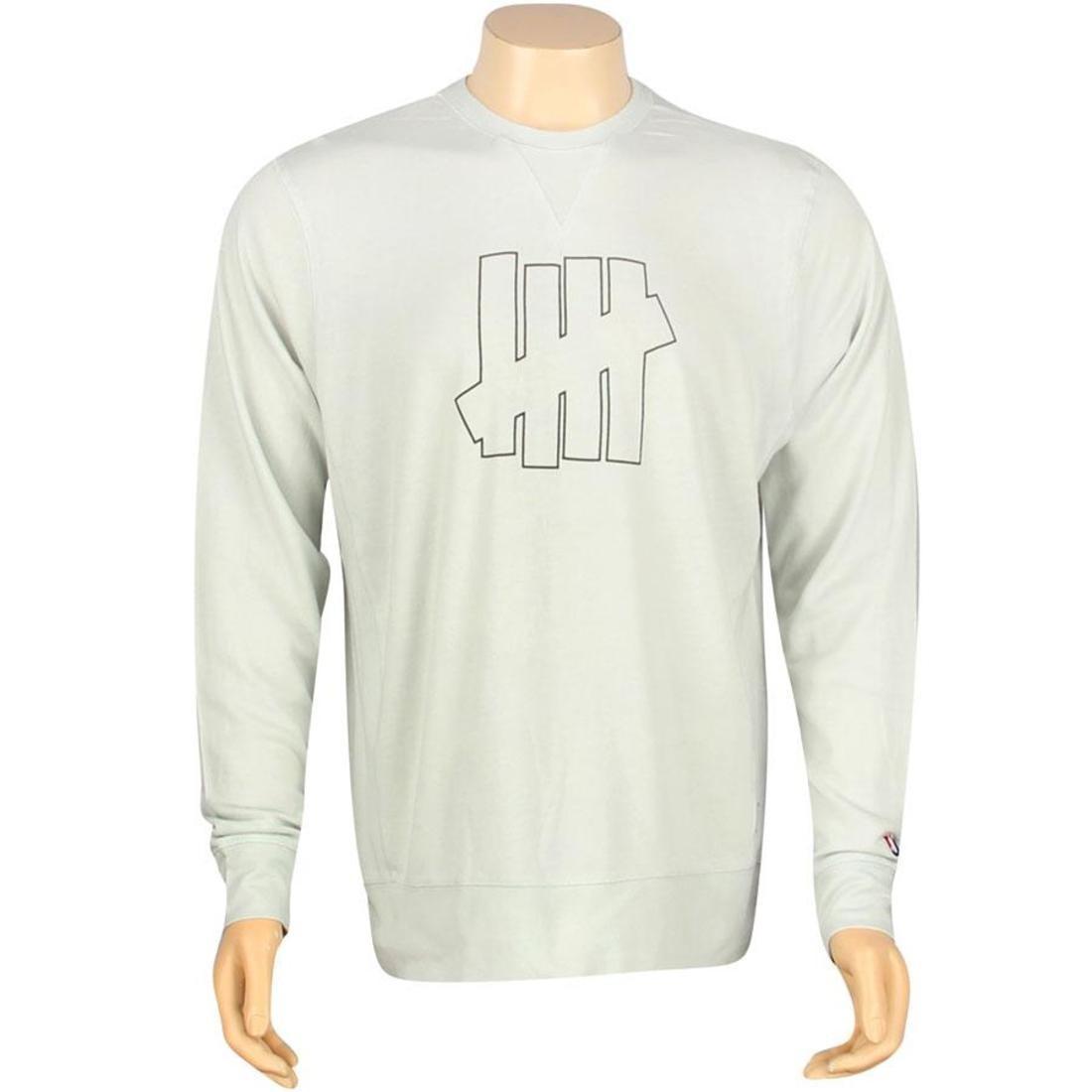 【スーパーセール中! 6/11深夜2時迄】UNDEFEATED ストライク メンズファッション トップス Tシャツ カットソー メンズ 【 U And D 5 Strike Crewneck (grey) 】 Grey