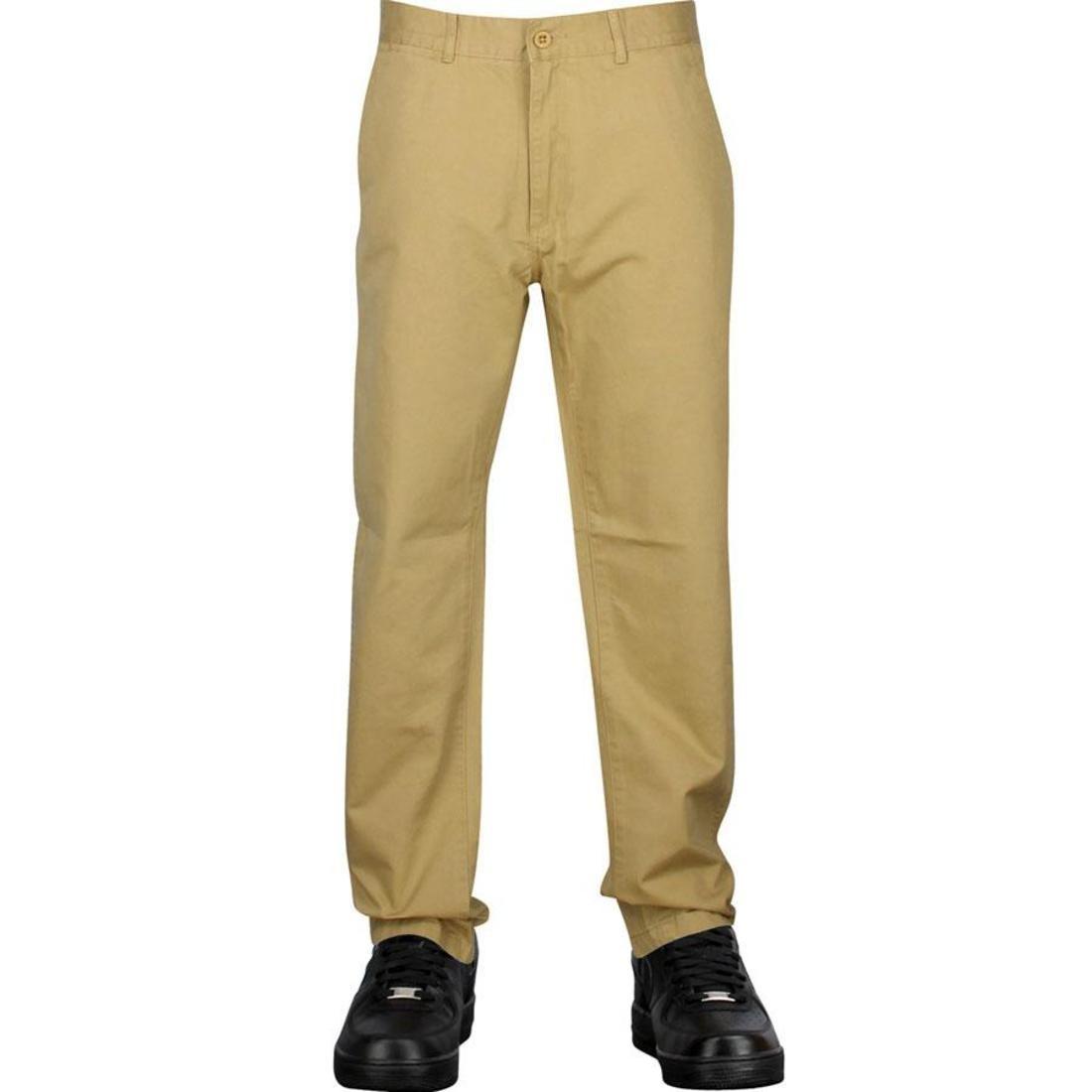 【海外限定】チノ パンツ ズボン 【 UNDEFEATED QUALITY CHINO PANTS KHAKI 】