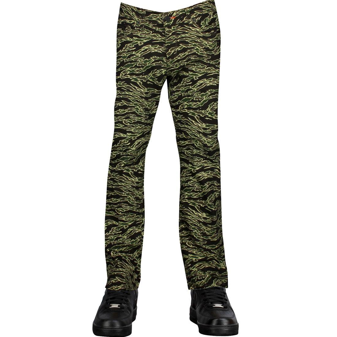【 BLKWD TIGER JEANS CAMO 】 メンズファッション ズボン パンツ