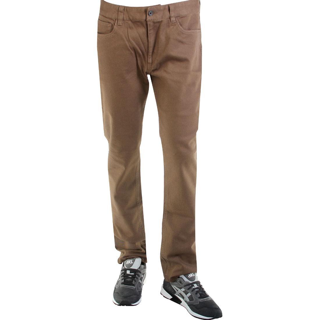 【海外限定】ズボン パンツ 【 BRIXTON RESERVE PANTS BROWN 】