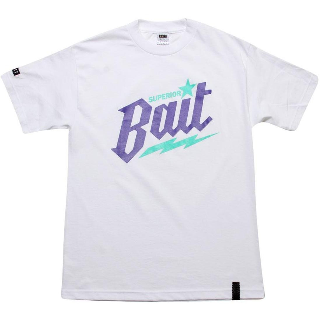 Tシャツ 紫 パープル 【 PURPLE BAIT SUPERIOR TEE GRAPE WHITE TEAL 】 メンズファッション トップス カットソー 送料無料