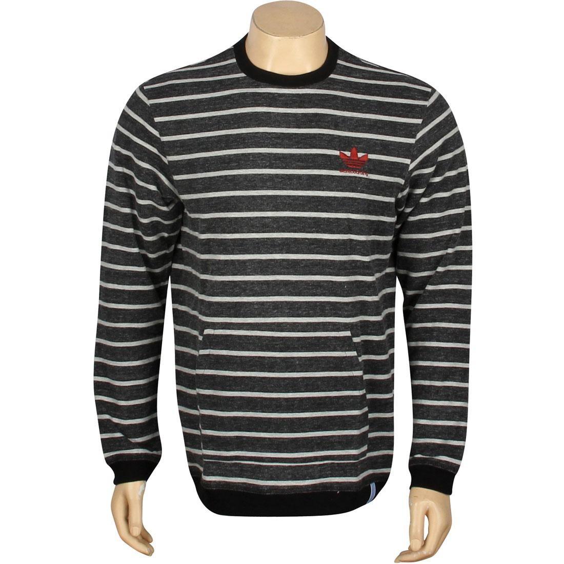 アディダス ADIDAS メンズファッション トップス Tシャツ カットソー メンズ 【 Sport Crew Sweater (black / Megrhe) 】 Black / Megrhe