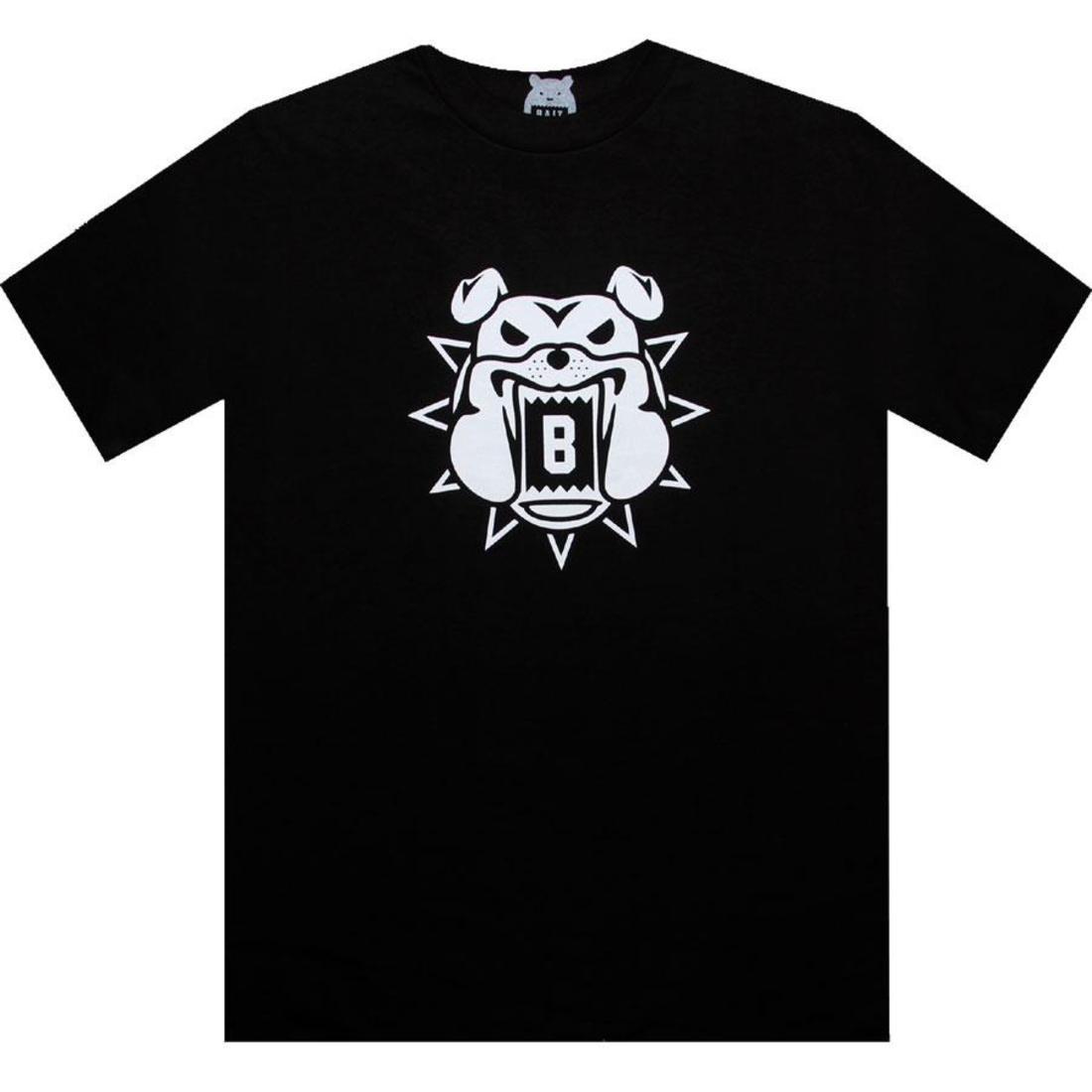 ベイト BAIT Tシャツ 黒 ブラック 白 ホワイト 【 BLACK WHITE BAIT BULLDOG TEE 】 メンズファッション トップス Tシャツ カットソー
