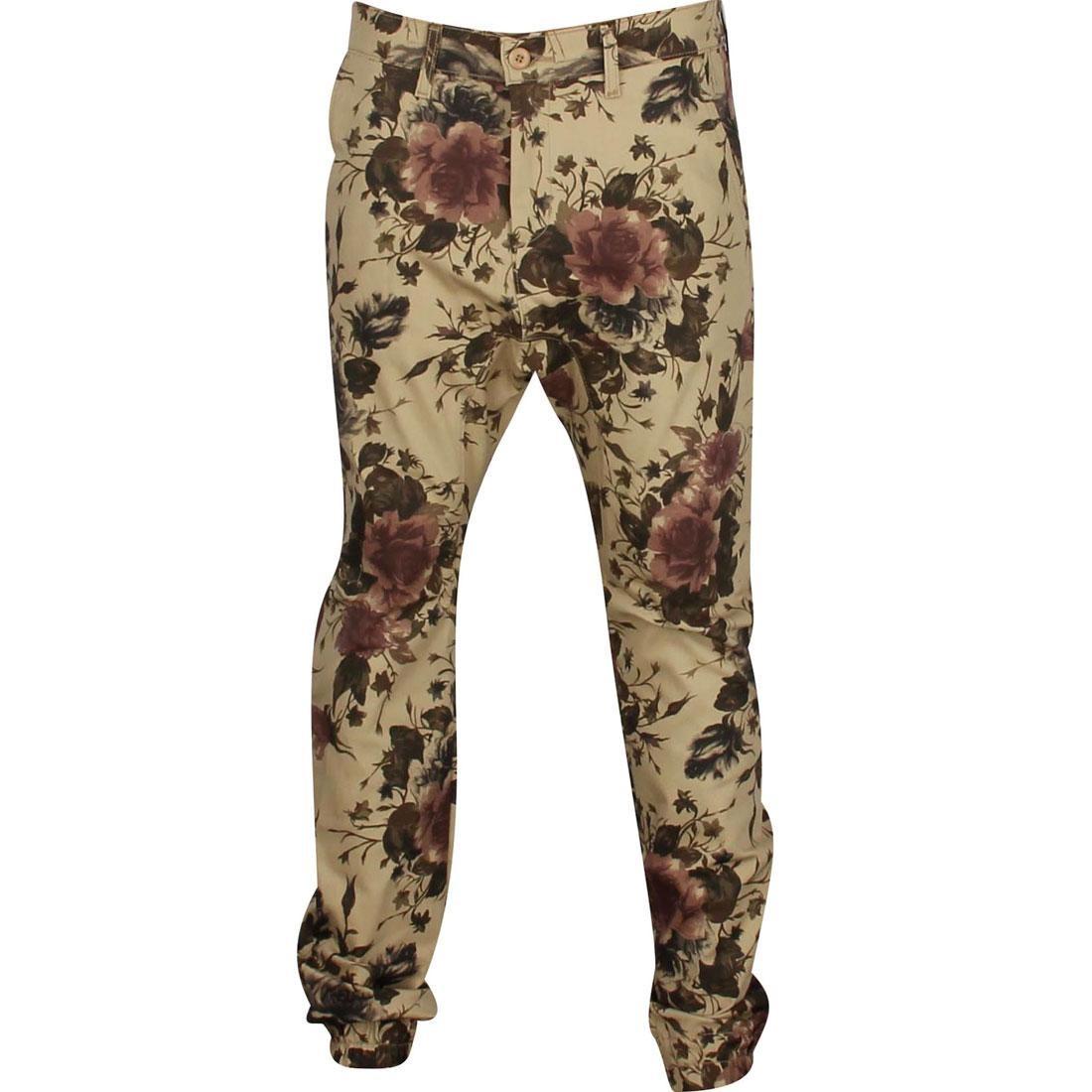 デニム チノ メンズファッション ズボン パンツ メンズ 【 Golden Denim Marathon Sunny Chino Pants (tan / Brown) 】 Tan / Brown