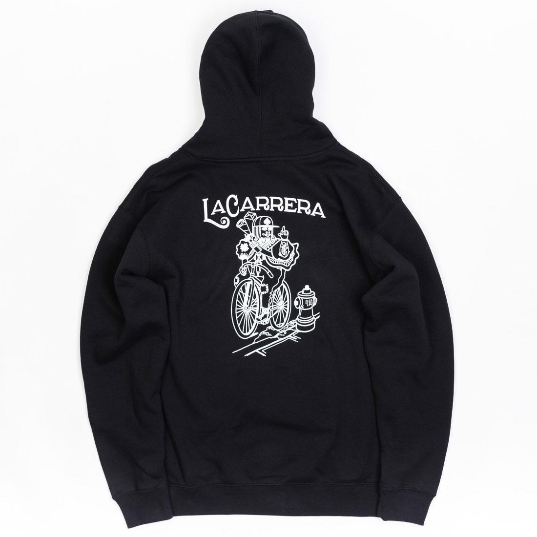 【海外限定】フーディー パーカー メンズファッション トップス 【 LA CARRERA MEN KING RIDES AGAIN HOODY BLACK 】