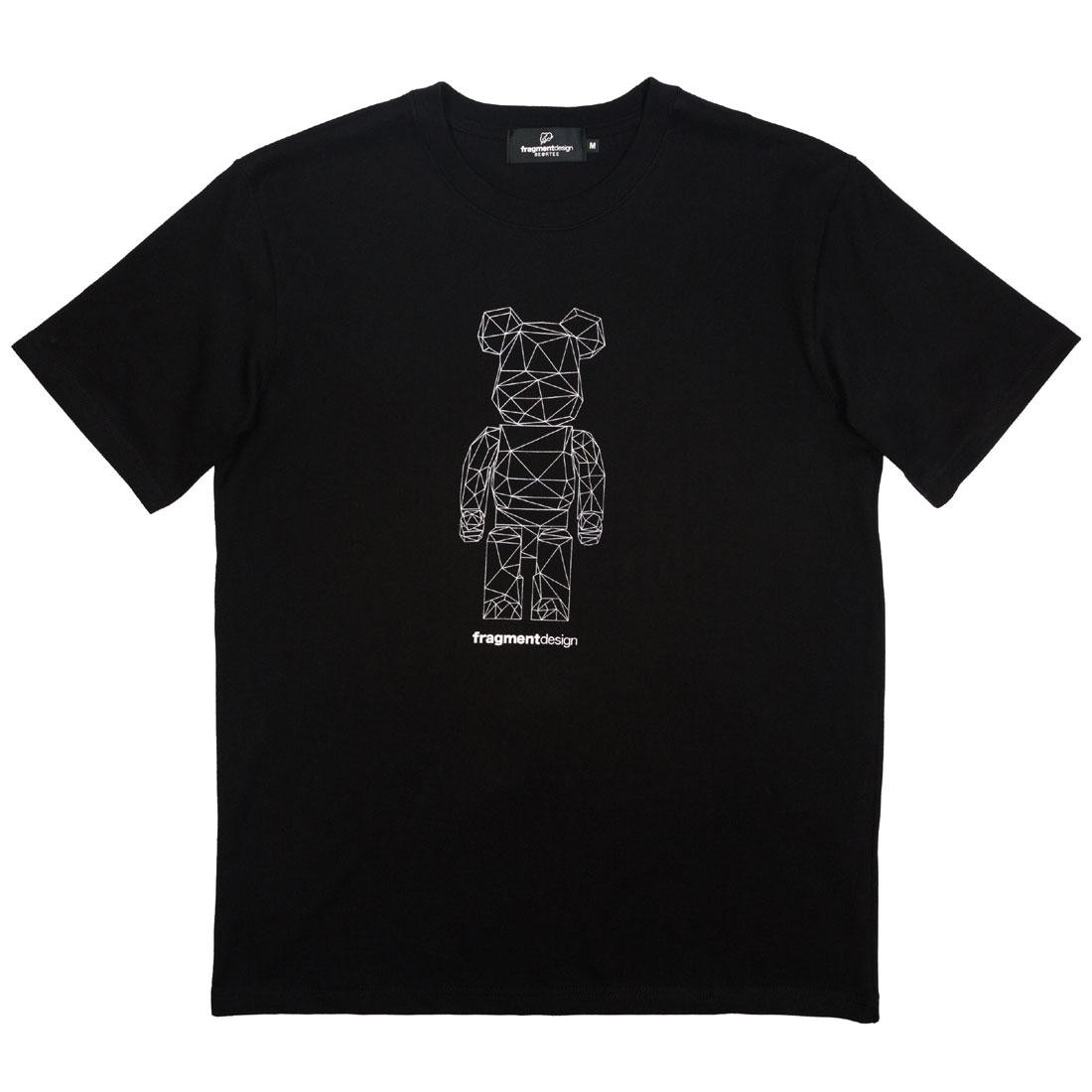 【スーパーセール中! 6/11深夜2時迄】Tシャツ Be@rtee メンズファッション トップス カットソー メンズ 【 Medicom X Fragment Design Men Be@rtee Polygon Tee (black) 】 Black