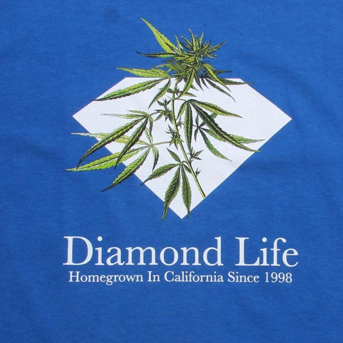 【海外限定】ダイヤモンド サプライ Tシャツ トップス メンズファッション 【 SUPPLY DIAMOND CO HOMEGROWN TEE ROYAL 】