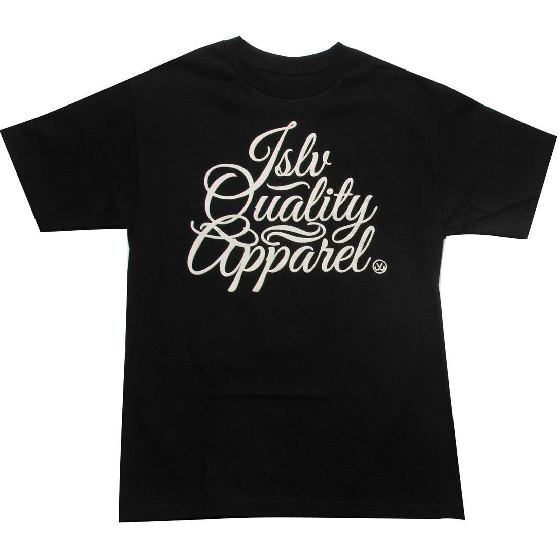 【海外限定】Tシャツ メンズファッション 【 JSLV QUALITY CURSIVE TEE BLACK 】