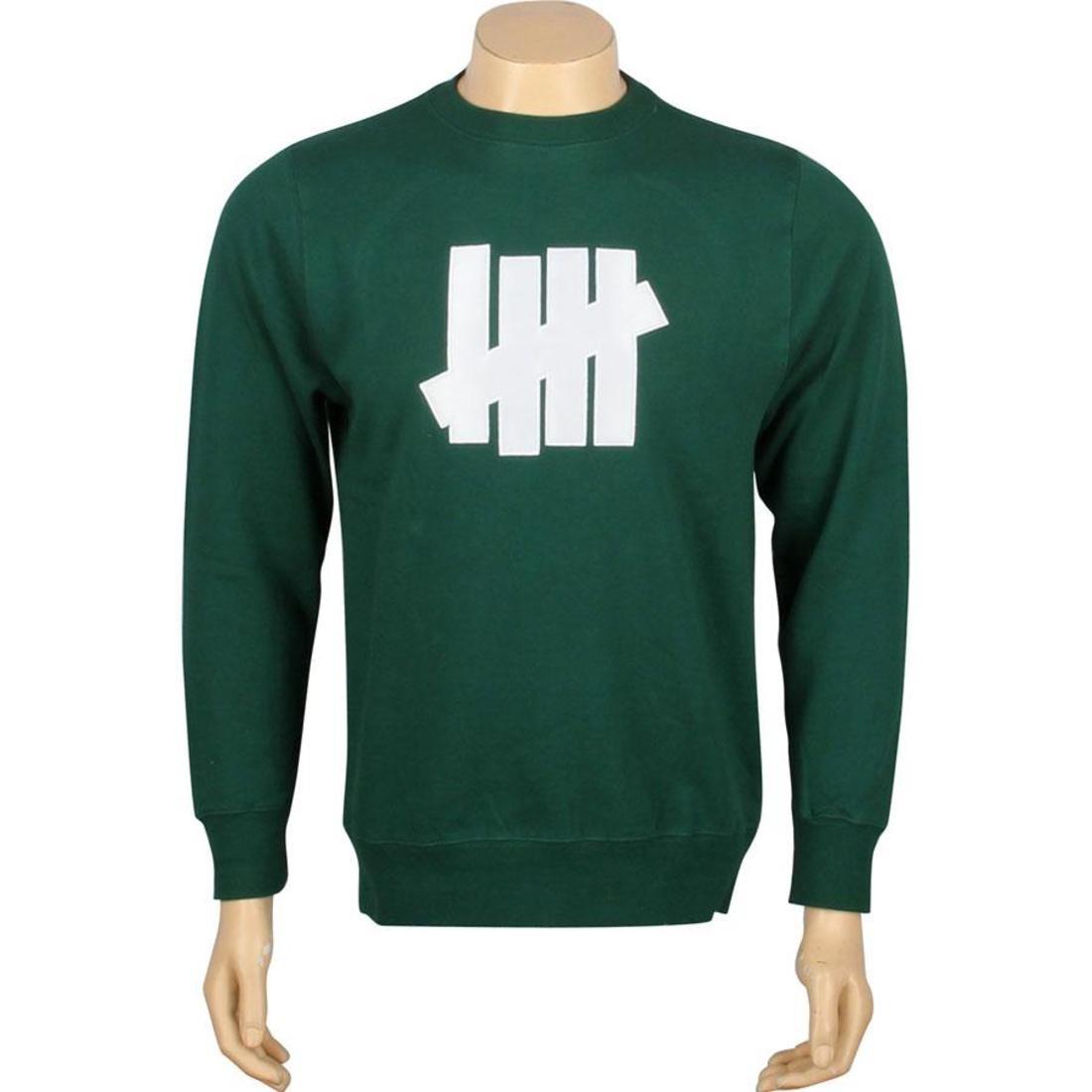 【海外限定】ストライク BASIC Tシャツ UNDEFEATED】 カットソー【 UNDEFEATED 5 STRIKE BASIC PULLOVER CREWNECK FOREST】, ファイト:e0422a1a --- officewill.xsrv.jp