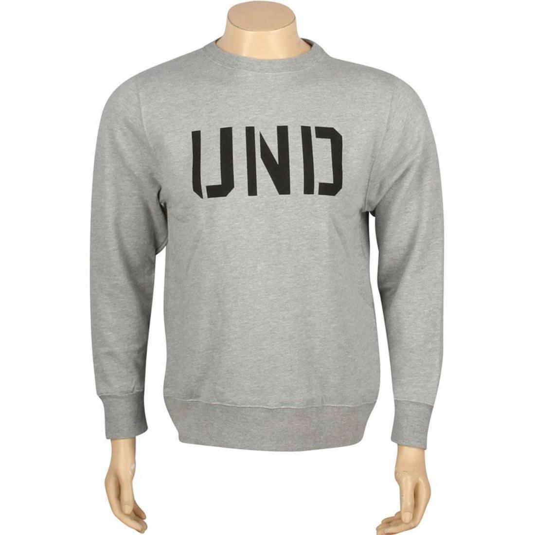 UNDEFEATED メンズファッション トップス Tシャツ カットソー メンズ 【 Und Basic Pullover Crewneck (grey Heather) 】 Grey Heather