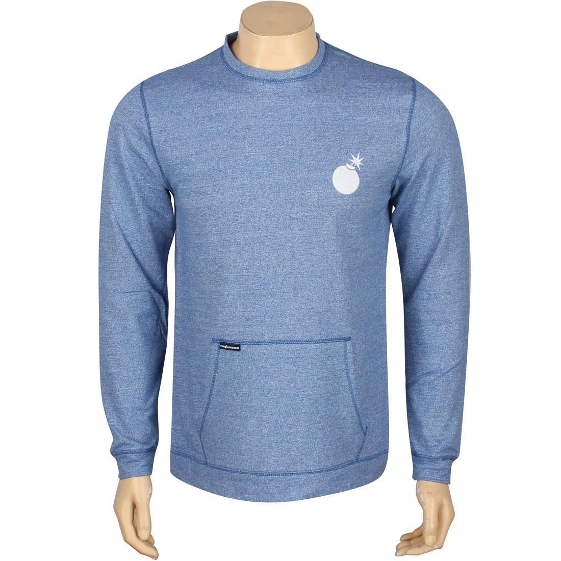 メンズファッション トップス Tシャツ カットソー メンズ 【 The Hundreds Yokozuna Crewneck (blue / White) 】 Blue / White