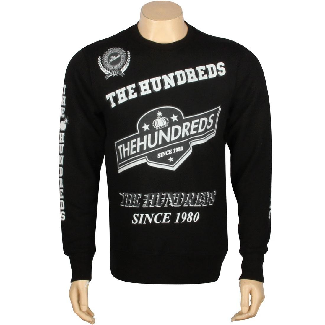 【海外限定】メンズファッション カットソー【 THE KING HUNDREDS カットソー KING【 CREWNECK BLACK】, Excellent One:4497079c --- officewill.xsrv.jp