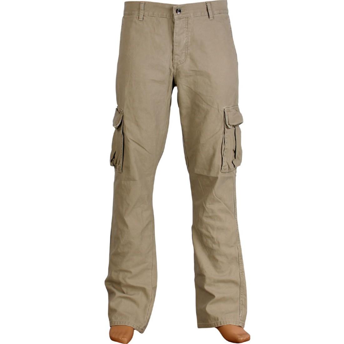 カーゴ カーキ 【 KR3W KLASSIC CARGO PANTS DARK KHAKI 】 メンズファッション ズボン パンツ