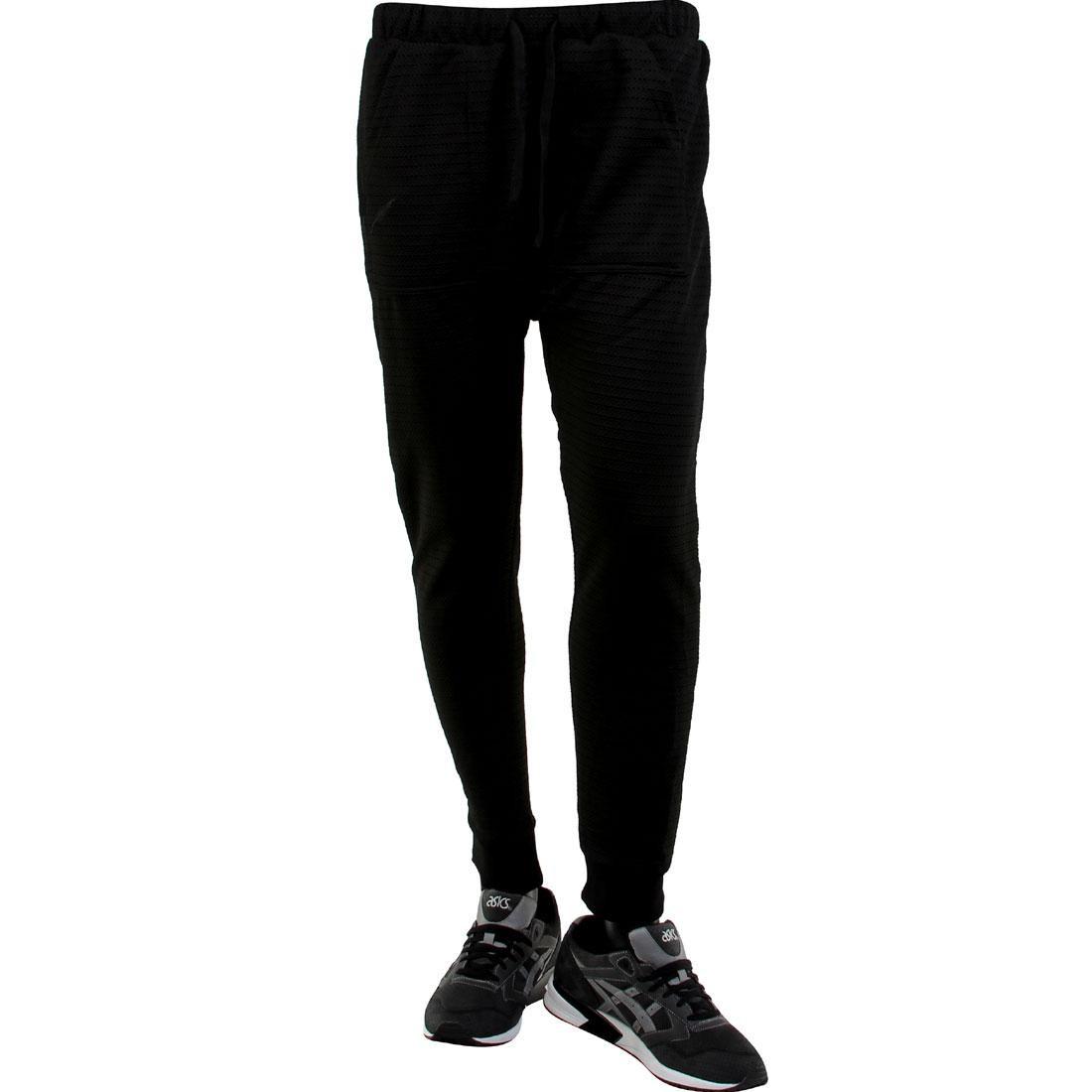 【海外限定】パブリッシュ メンズファッション ズボン 【 PUBLISH RICKO KANGAROO POCKETS JOGGER PANTS BLACK 】