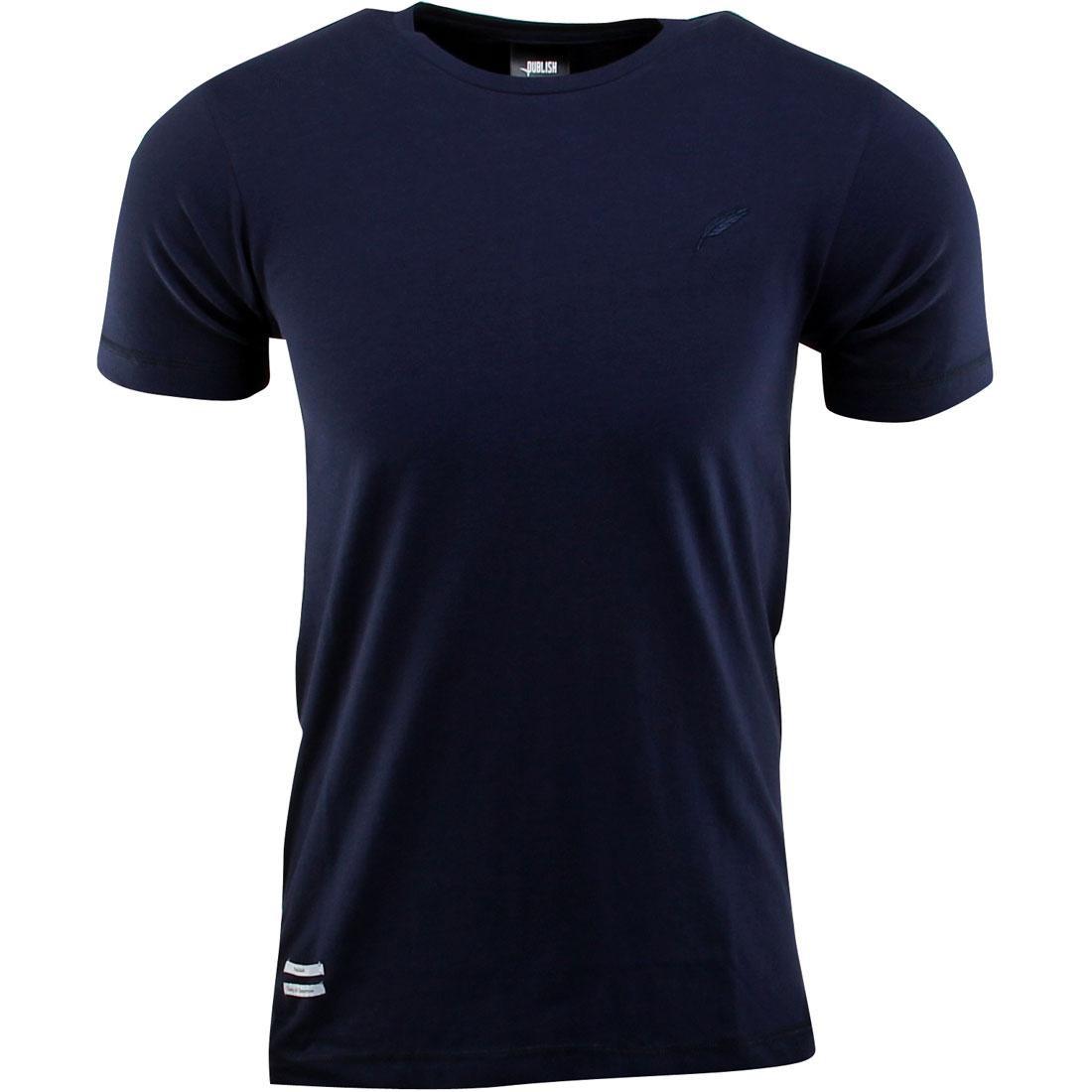 【海外限定】パブリッシュ ジャージ Tシャツ トップス メンズファッション 【 PUBLISH EAMON 140G JERSEY BODY TEE NAVY 】