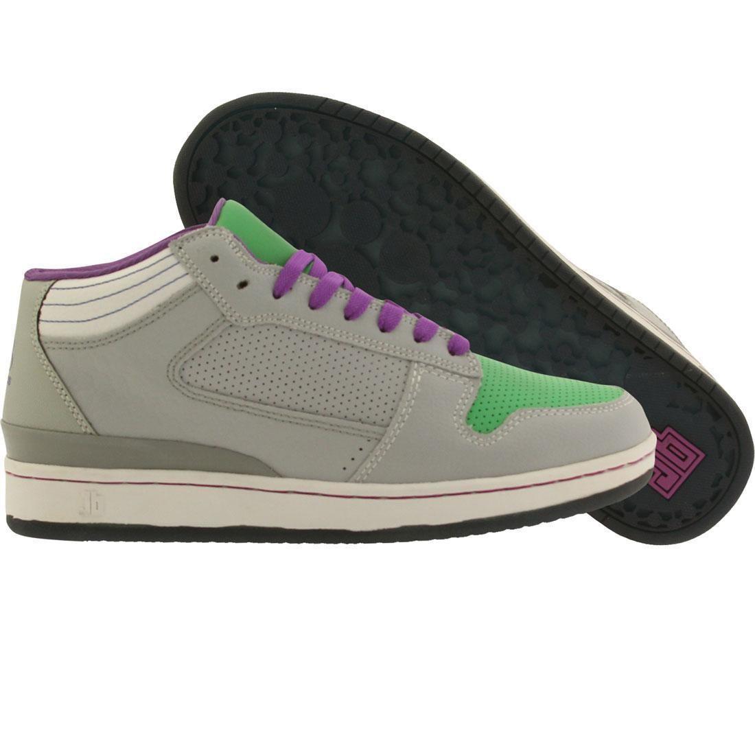 【海外限定】ミッド 緑 グリーン スニーカー 靴 【 GREEN JB CLASSICS GETLO MID NAVIES BIGHT CEMENT PURPLE 】