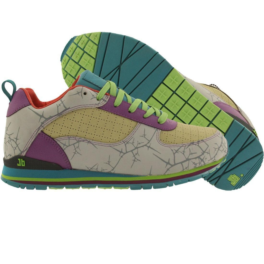 カーキ スニーカー メンズ 【 Jb Classics Sub-40 Thorns - Otwah (cement / Khaki / Purple) 】 Cement / Khaki / Purple